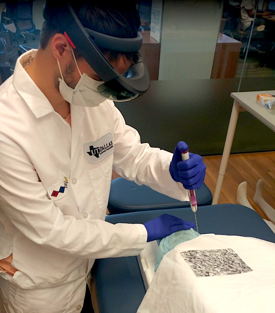 augmented reality for muscle biopsy